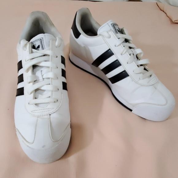5be84c2c55bce adidas Shoes | Black And White Samoa Sneakers Size 8 12 | Poshmark